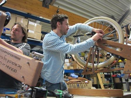 Syltfisch-Bike Produktion