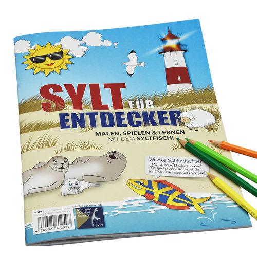 Sylt Malbuch